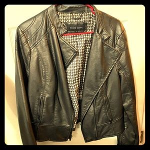 leather style jacket